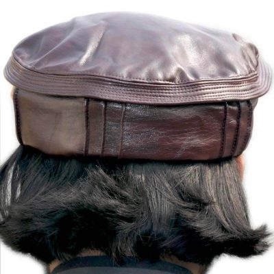 Mabiy Shop Leather Muhib Cap